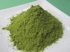 茶の種子緑茶粉末.JPG