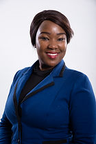 Gloria Ntaba-Receptionist and Office Adm