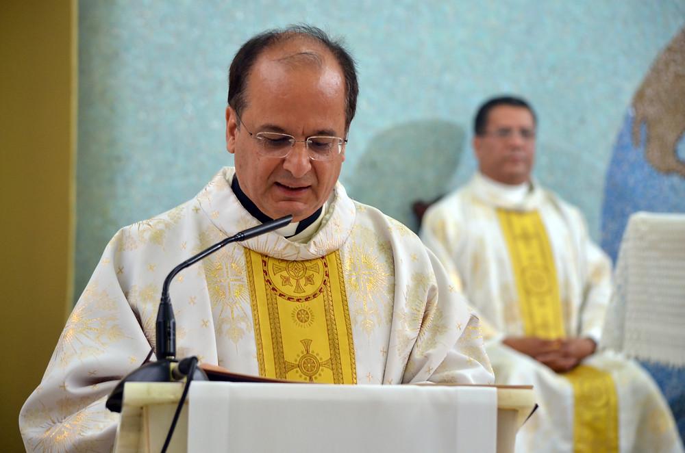 El Superior general, P. Valdir José de Castro durante su homilía.