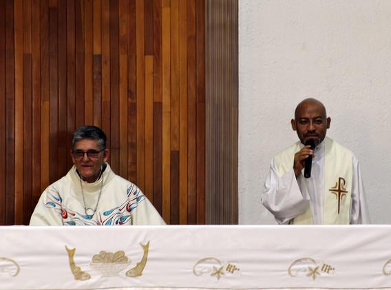 Eucaristía en honor a San Pablo y de acción de gracias por los 40 años de sacerdocio del P. Carlos Barradas.
