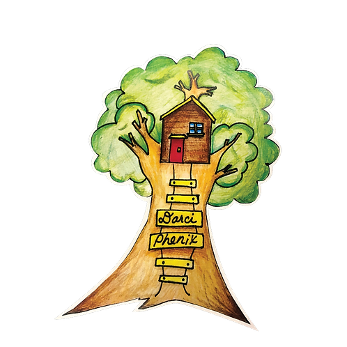 "In Years ""Treehouse"" Sticker"