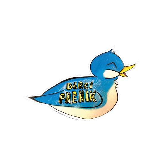 Darci Phenix Birdie Sticker