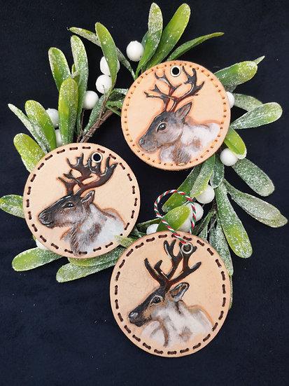 Handcrafted Reindeer Decoration