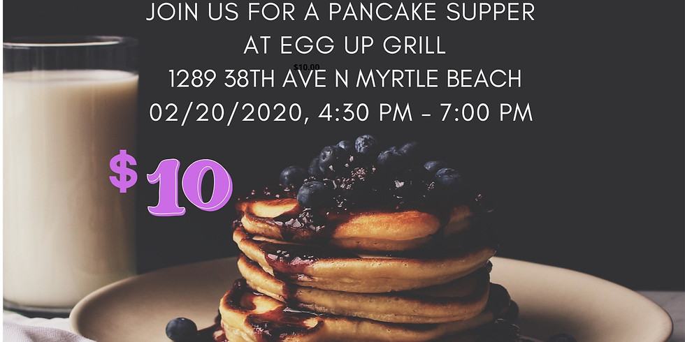 Pancake Supper Fundraiser