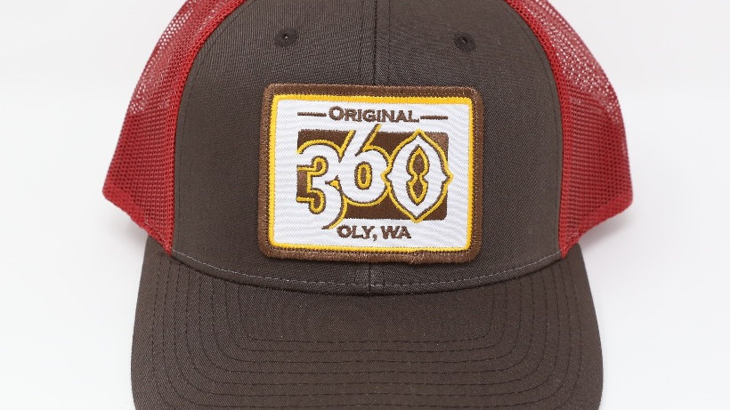 360 Gold on Brown/Crimson - Low
