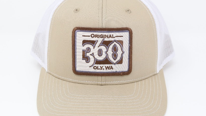 360  Monochromatic on Tan/White - Mid
