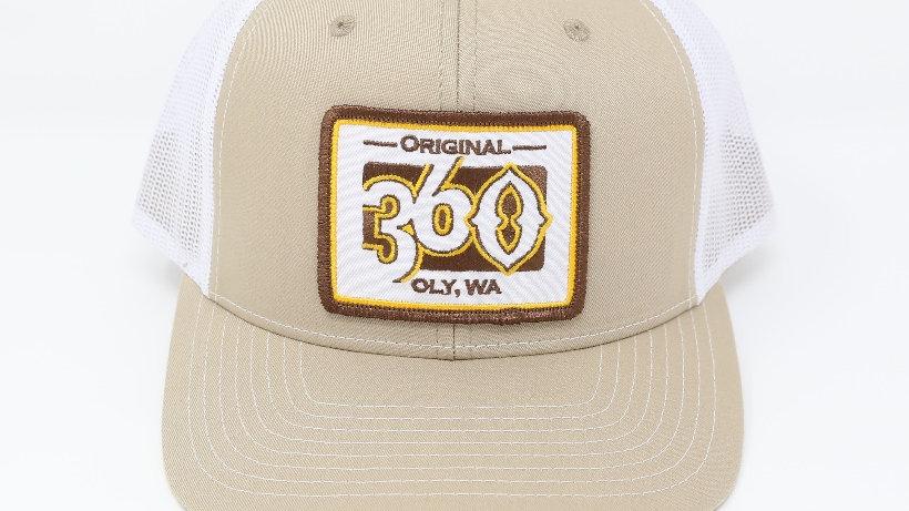 360  Gold on Tan/White - Mid