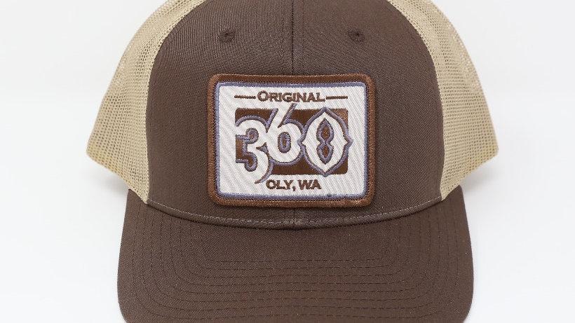 360 Monochromatic on Brown/Tan - Mid