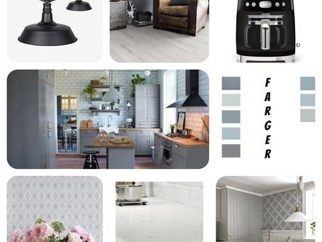 Planer for nytt kjøkken !