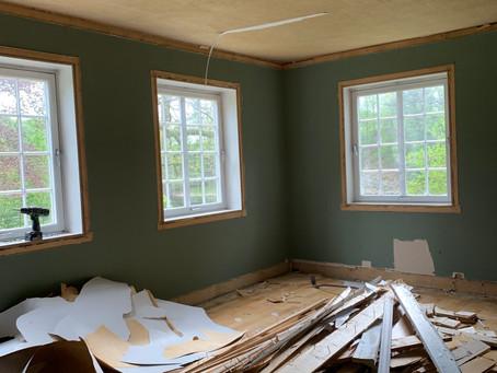 Prosjekt stue er i gang...