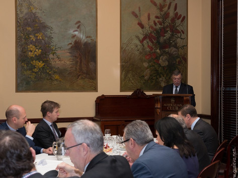 Breakfast Meeting with the Russian Ambassador, His Excellency Mr Vladimir Morozov