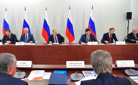 President Putin held a meeting on the development of liquefied natural gas production projects
