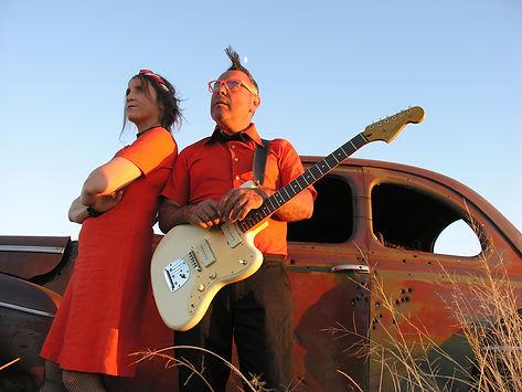 concert duo electrorock'n drôle li2l'air li2lair musique