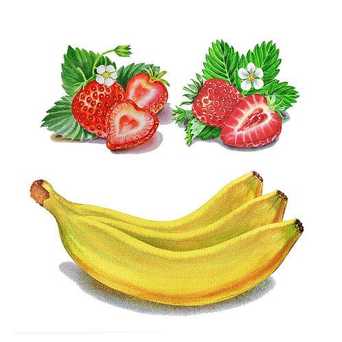 Banana-Strawberry Jam