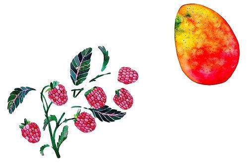 Mango-Raspberry Jam