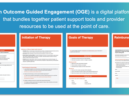 Presenting Aventria Health Group's Outcome Guided Engagement® (OGE®) Digital Platform