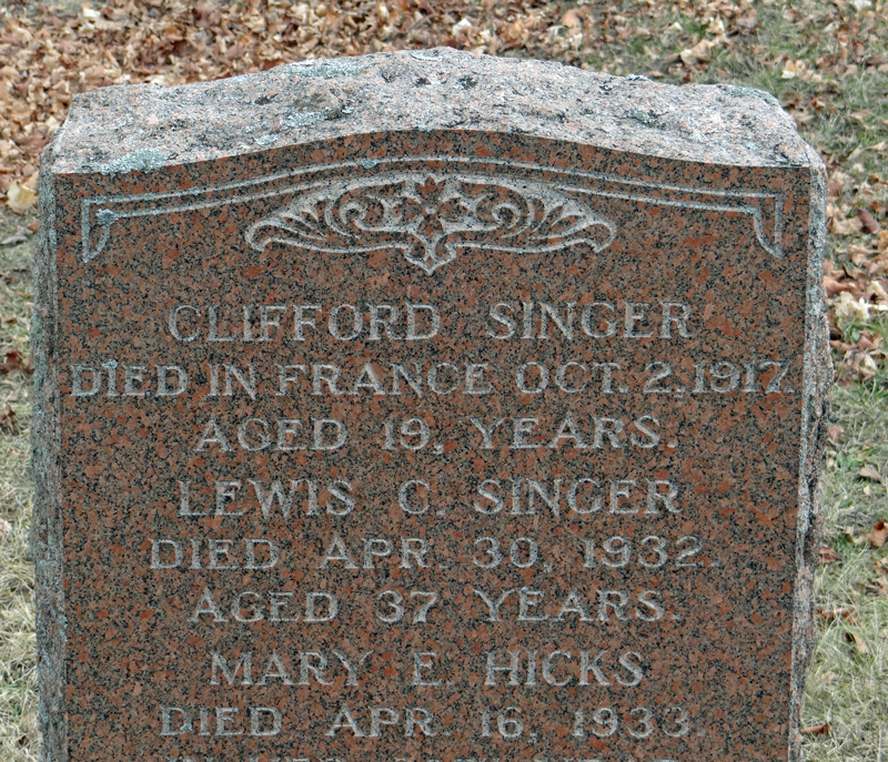 new-road-chruch-singer-grave