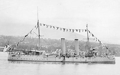 HMCS_Rainbow_dressed_North_Vancouver_191
