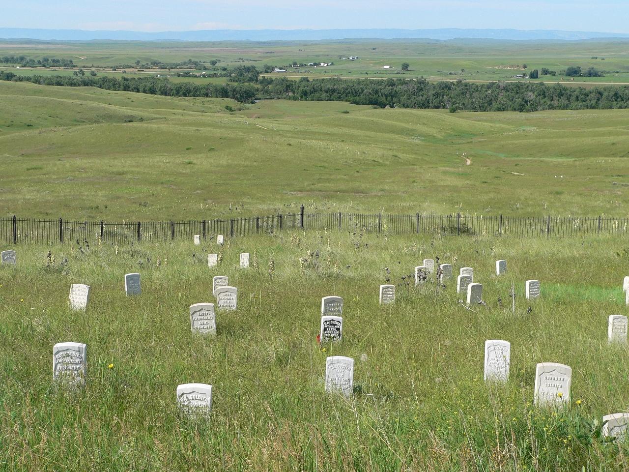 Custer battlefield Montana