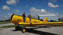Harvard aircraft