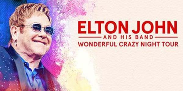 """A Mantova unica data italiana per Elton John e la sua """"Wonderful crazy night"""" tra musica e"""