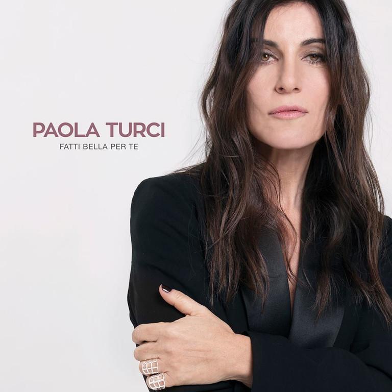 Sanremo2017: Paola Turci in conferenza stampa al Pala Fiori