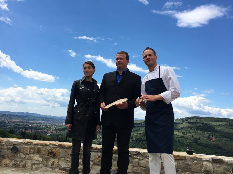 """""""Made in Italy"""" in Toscana attraverso un cortometraggio con chef Rugiati, la bellissima Mu"""