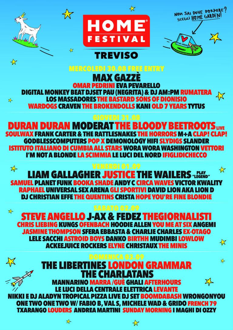 Home Festival 2017: ecco cosa vi aspetta e la line up completa delle serate, tra gli altri London Gr