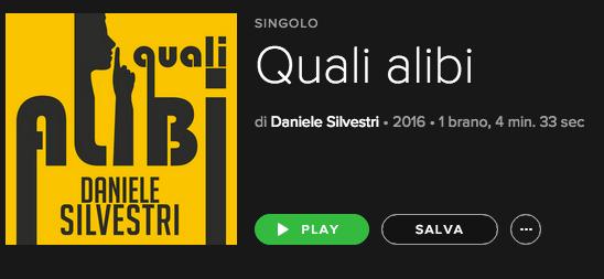"""""""Quali Alibi"""" è il nuovo singolo di Daniele Silvestri"""