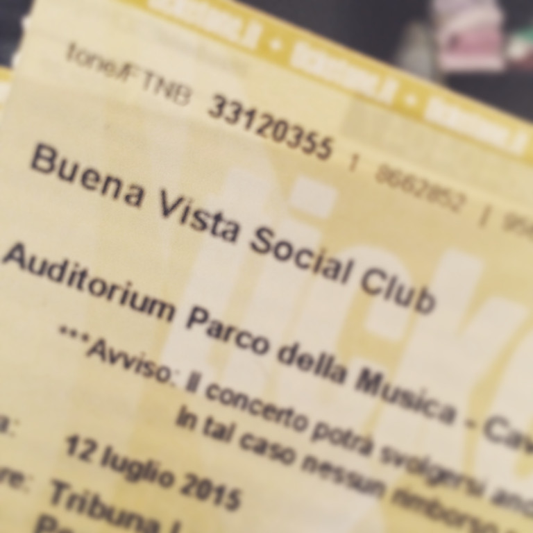 Adios Tour - Buena Vista Social Club all'Auditorium Parco della Musica ---> STAY TUNED.