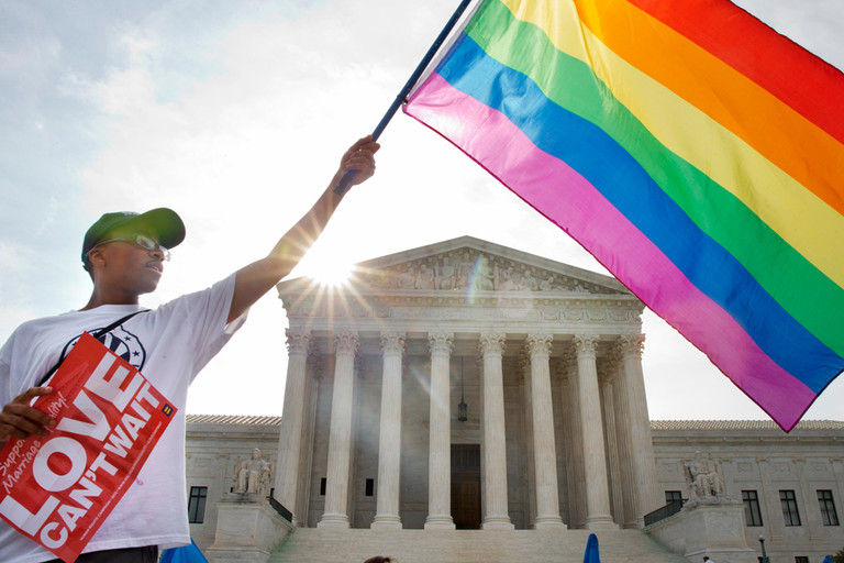 L'america ha detto si al diritto di amarsi liberamente; un piccolo passo per l'uomo ma un gr