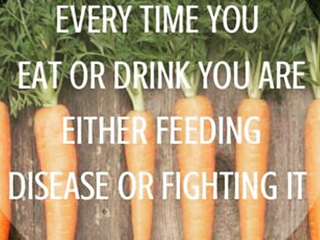 Are you FEEDING the Disease?