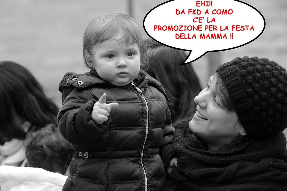 """promozione """"Wlamamma"""" festa della mamma"""