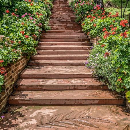 Tipps und Ideen: Gestaltung Gartentreppe