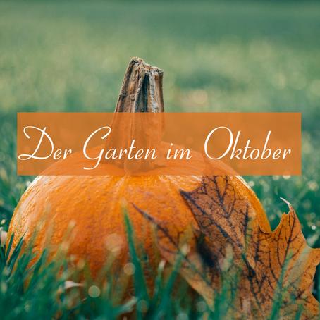 Der Garten im Oktober