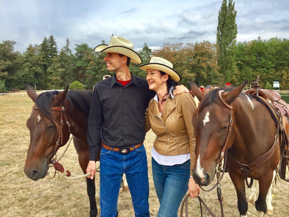 Cowboy & Cowgirl