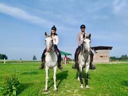 Mango a Gerda závody Proruby 40 km