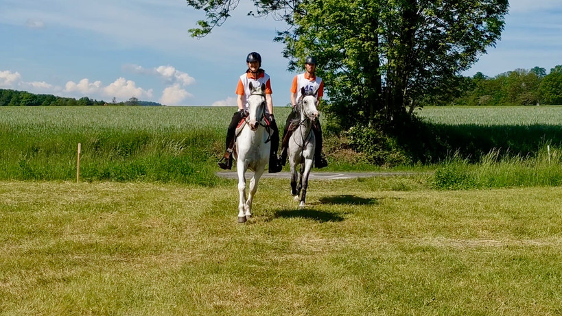 Jaru a Petr na závodech Budislavice 40 km