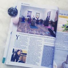 Om Magazine feature