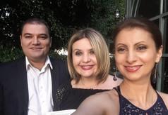 Shushana Hakobyan with soprano Kristina Davlatyan and bass Vaga Martirosyan