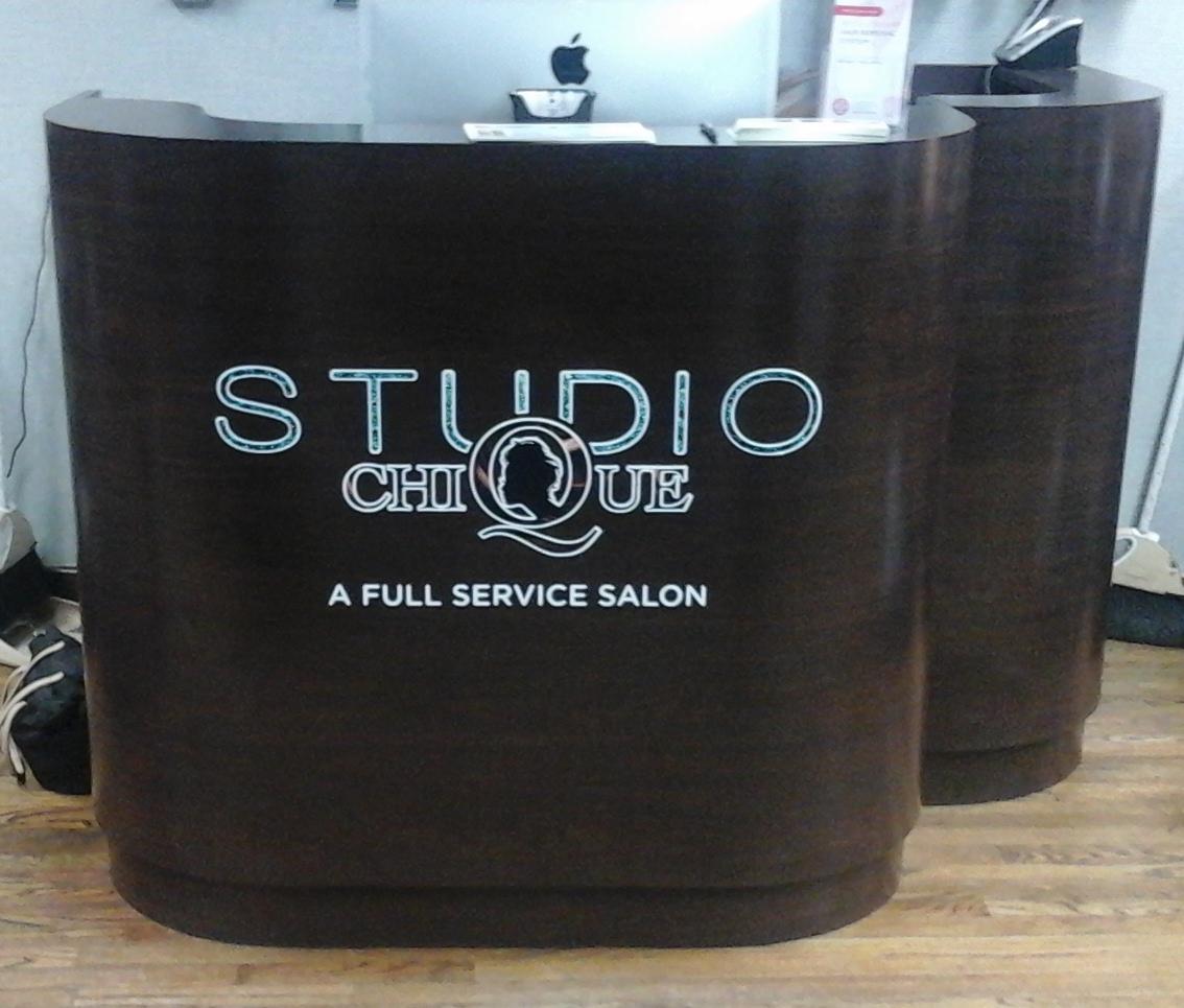 Studio Chique Reception Desk