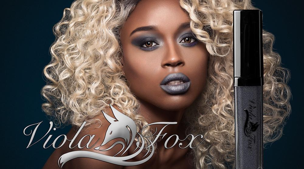 Viola Fox Gray lipshine
