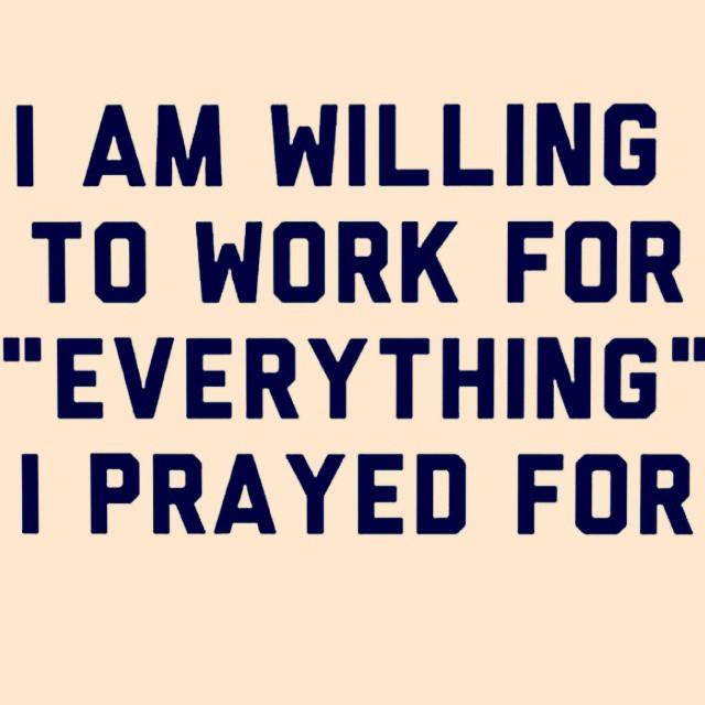 #Daily #NoDaysOff #PrayerStillWorks