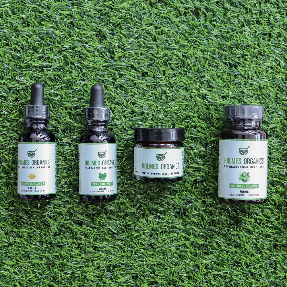 Holmes Organics, Black-owned CBD products