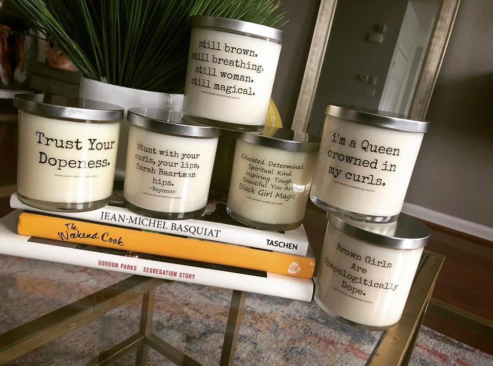 Isabis, Black-owned candles to empower and inspire