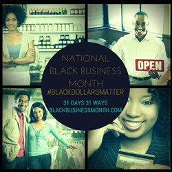 Here are 31 ways each day in August we can make our Black Dollars Matter. Share this email and use t