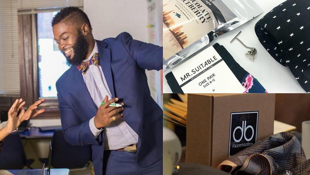 Dapper Black Box, Black-owned Subscription Box Service
