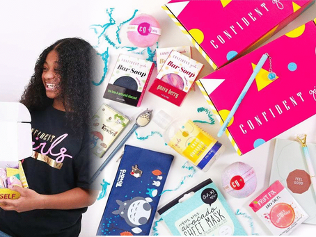 Mom & Daughter Duo Create Confident Crate Subscription Box to Empower Young Girls!