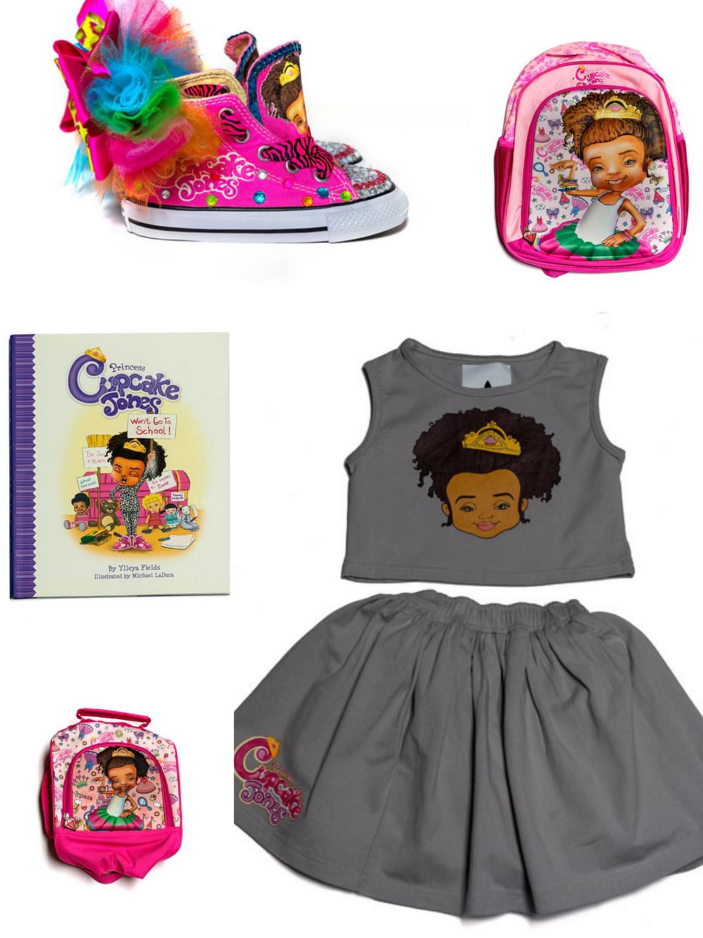 Princess Cupcake Jones, Black-owned children's book series and merchandise