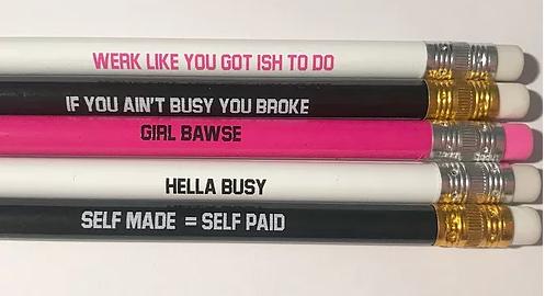 Brown Girl Hustle, Black-owned stationary